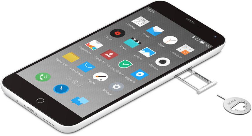 Медленно заряжаются телефоны от Meizu