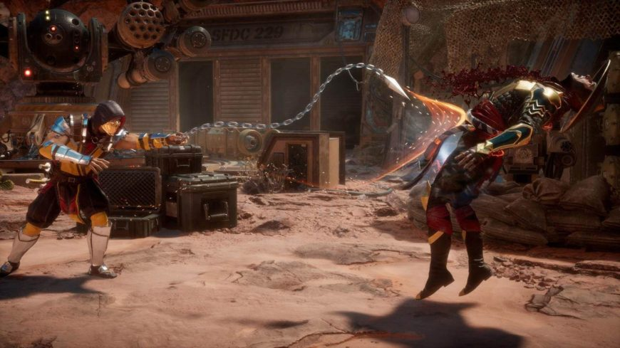 Черный экран при запуске Mortal Kombat 11