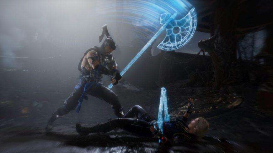 Mortal Kombat 11 вылетает после заставки
