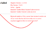 Error 503 Backend fetch failed исправляем за минуту