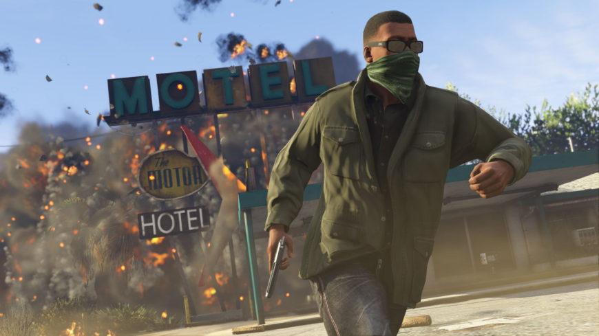 Немного про игру Grand Theft Auto V