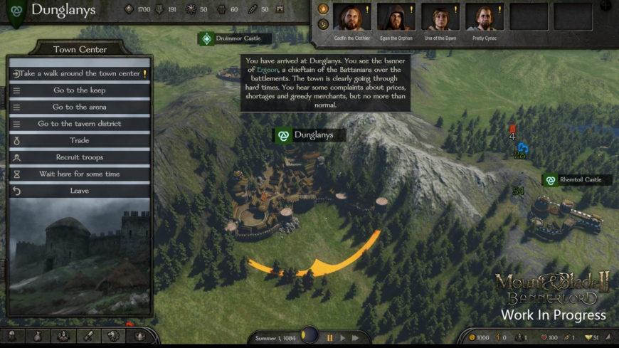 В Mount & Blade 2: Bannerlord черный экран, белый экран, цветной экран. Решение