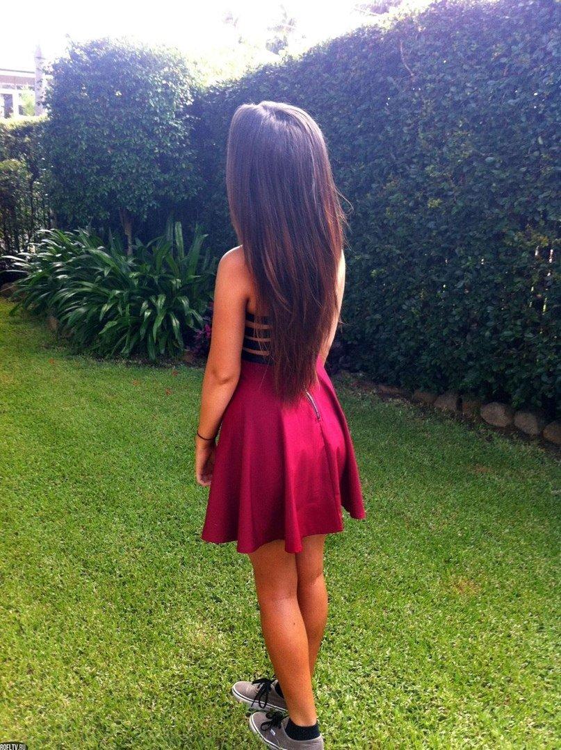 Картинки на аву девушка в платье без лица