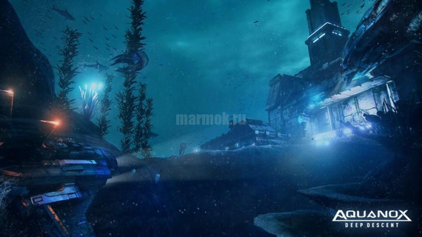 Скриншот из игры Aquanox: Deep Descent