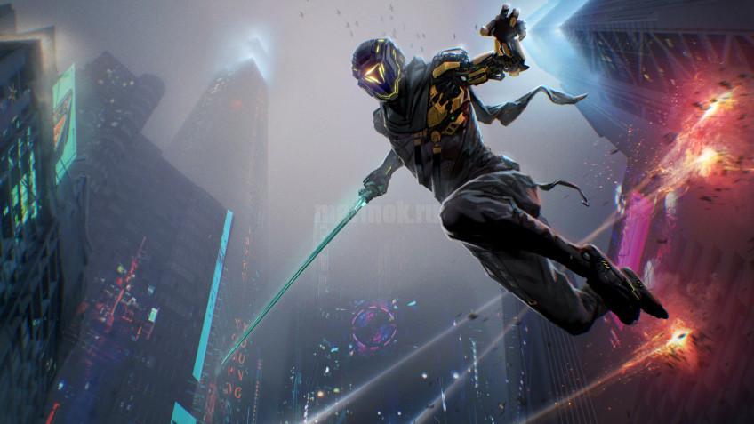 Скриншот из игры Ghostrunner