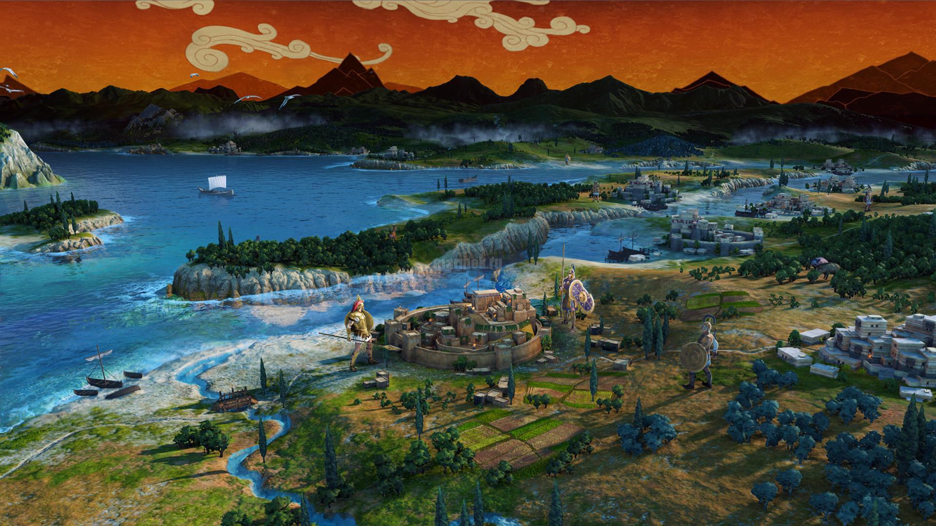 Скриншот из игры Total War Saga: TROY