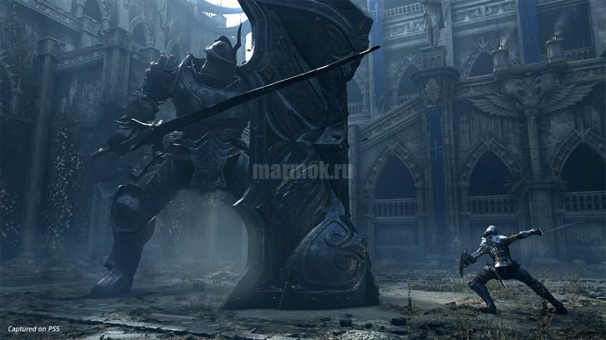 Скриншот из игры Demon's Souls 2020