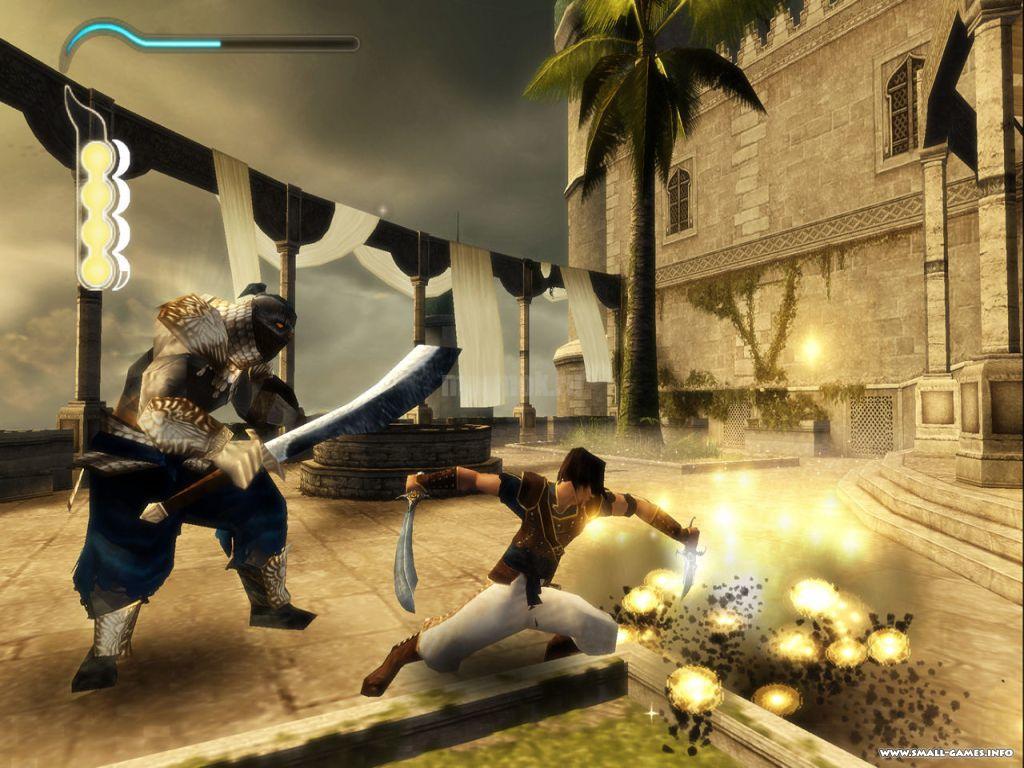 Скриншот из игры Prince of Persia Remake 2020