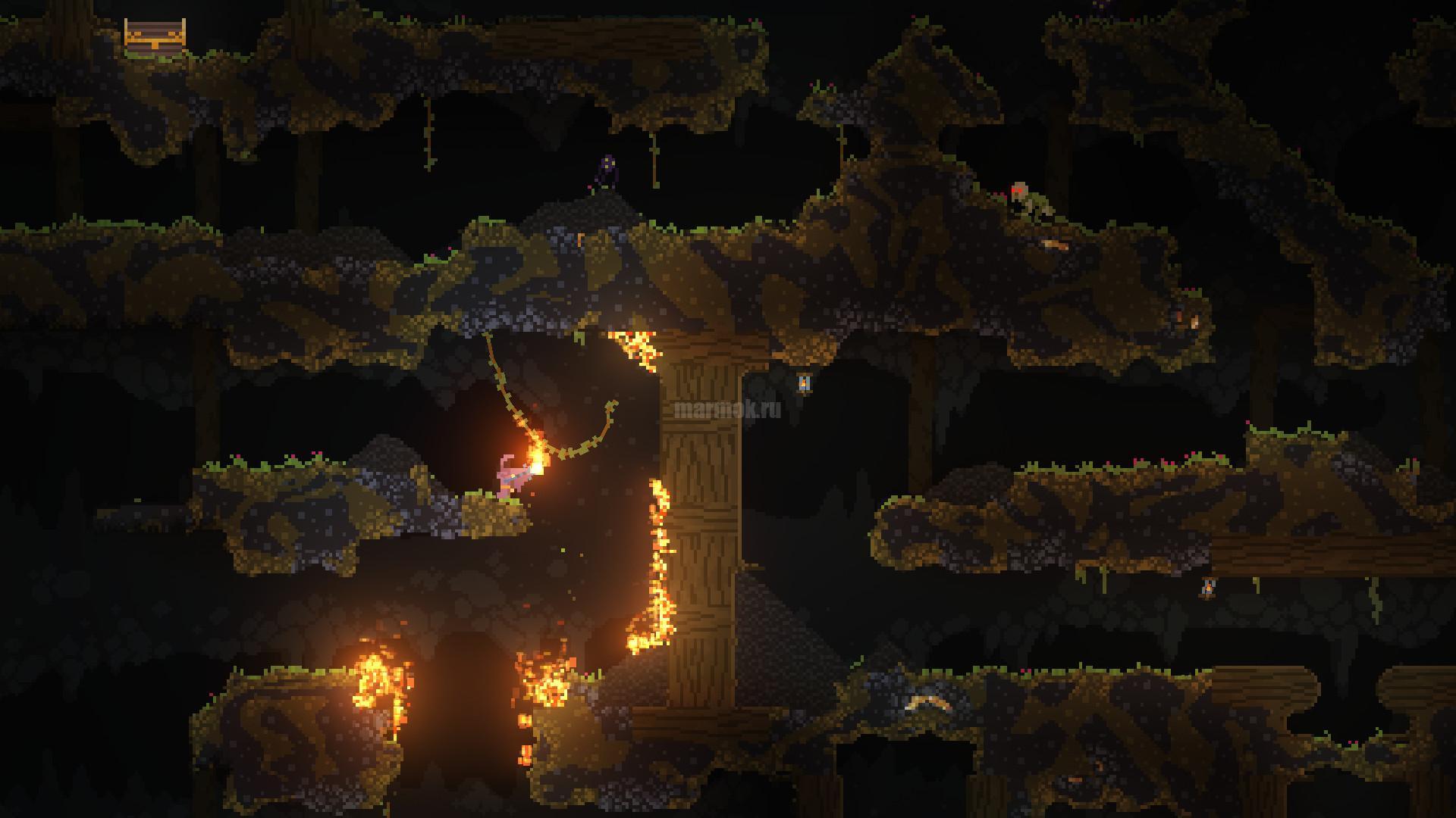 Скриншот из игры Noita