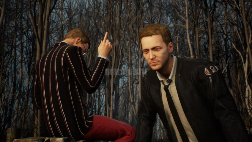 Скриншот из игры Twin Mirror