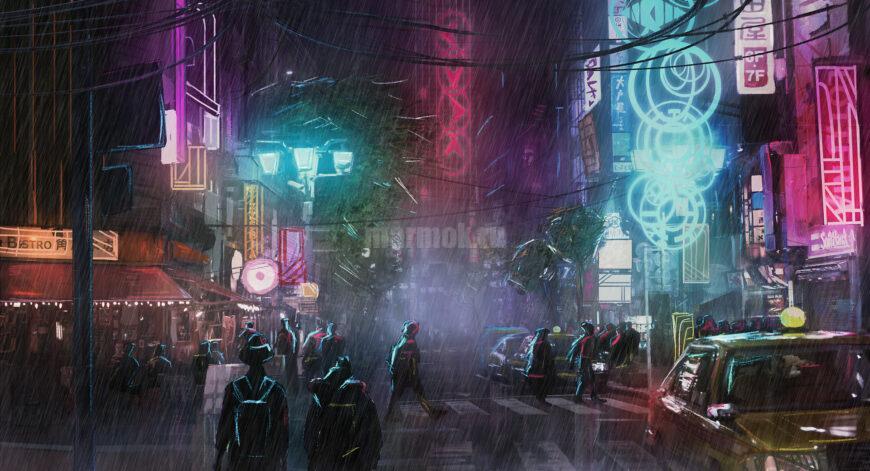 Обои Cyberpunk 2077 на рабочий стол и телефон