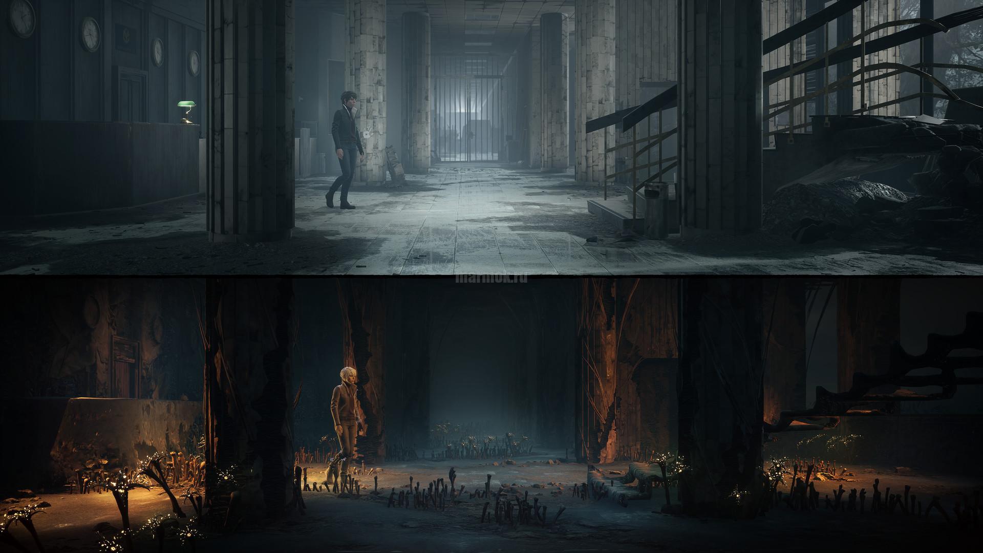 Скриншот из игры The Medium