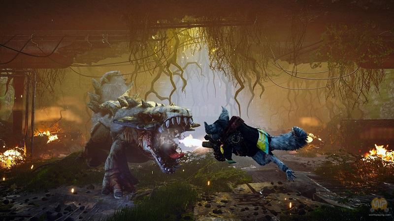 Скриншот из игры Biomutant