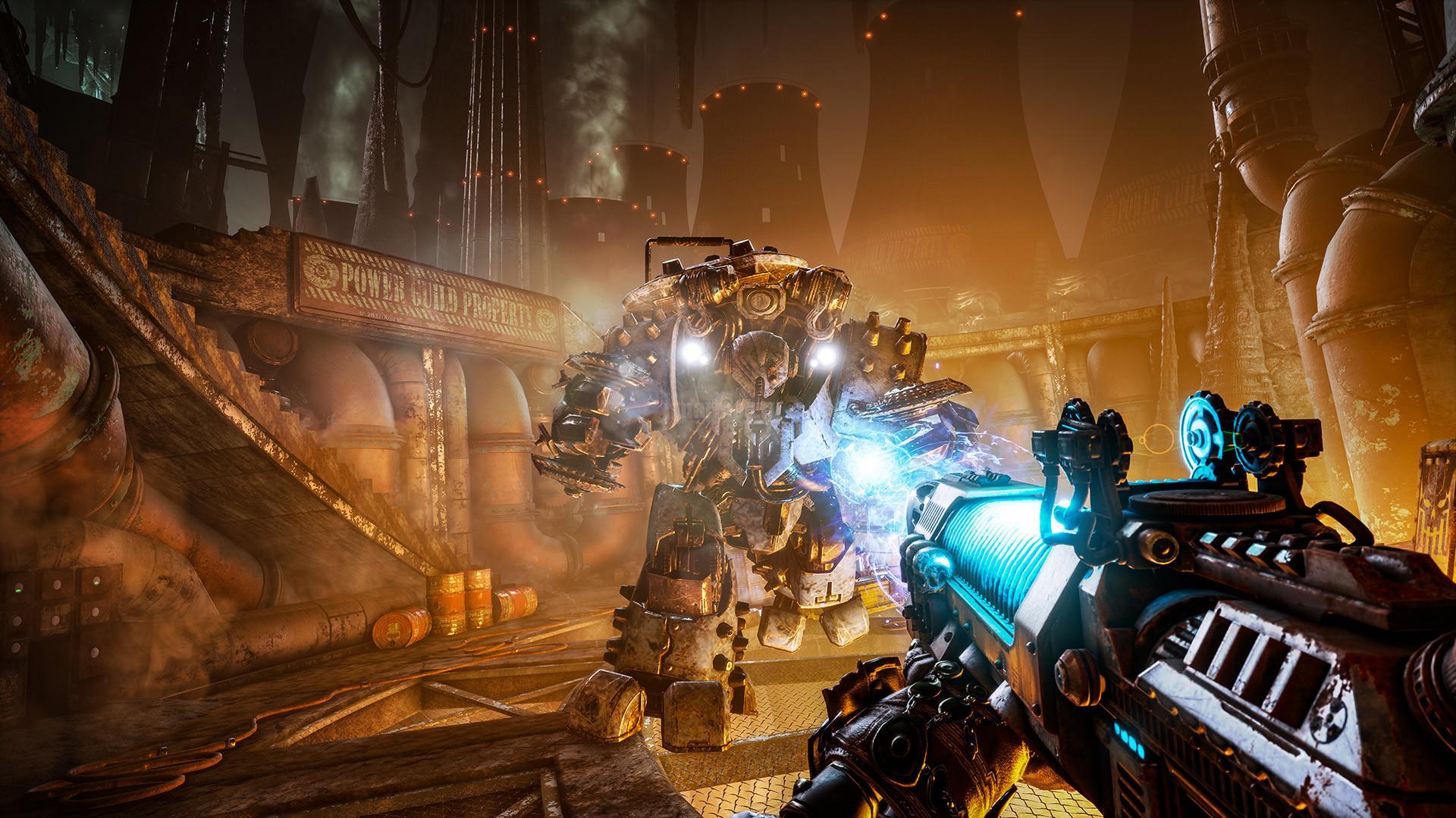 Скриншот из игры Necromunda: Hired Gun