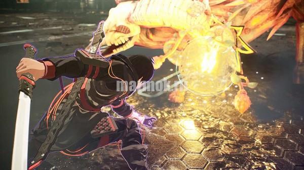 Скриншот из игры SCARLET NEXUS