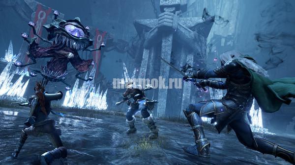 Скриншот из игры Dungeons Dragons Dark Alliance