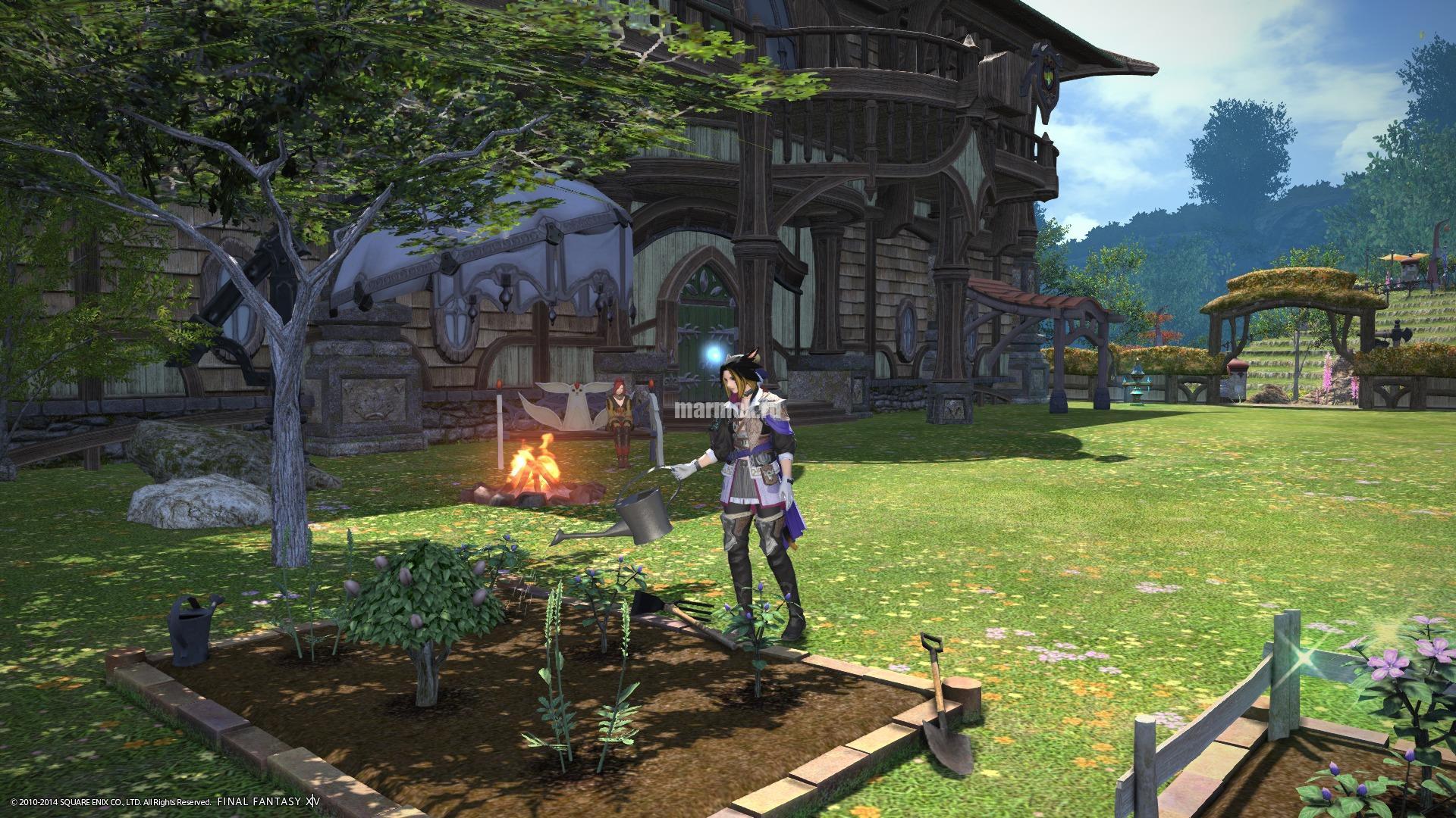 Скриншот из игры Final Fantasy 14