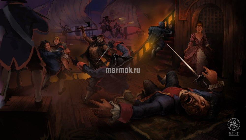 Скриншот из игры Корсары: Черная метка
