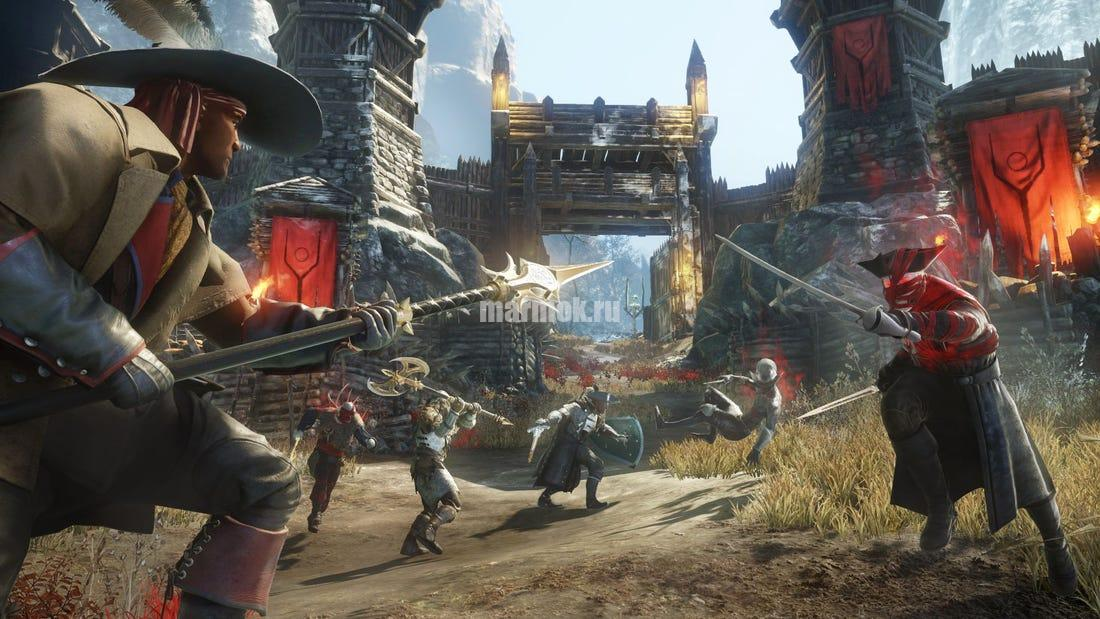 Скриншот из игры New World