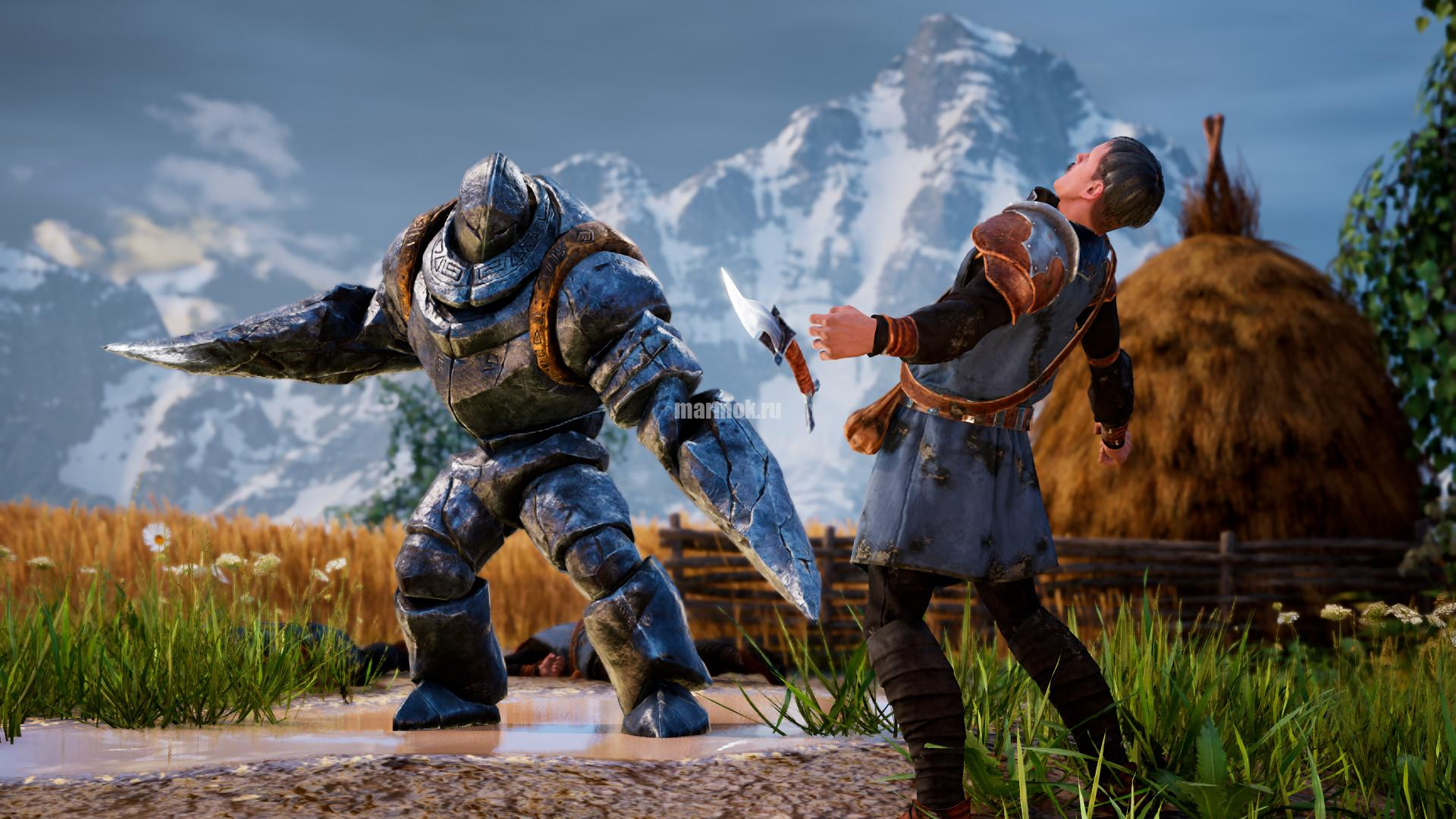 Скриншот из игры King's Bounty 2