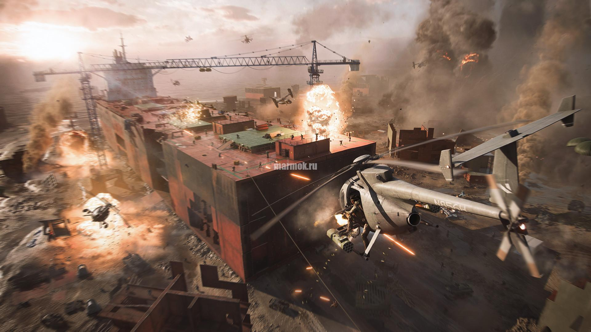 Скриншот из игры Battlefield 2042