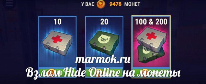 Взлом Hide Online монеты
