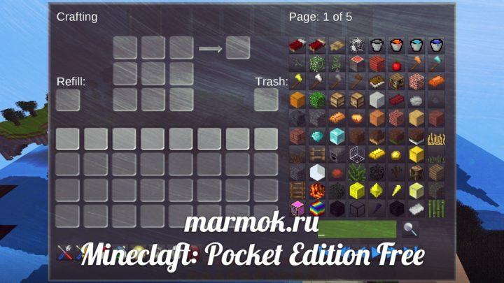 Mineclaft: Pocket Edition Free
