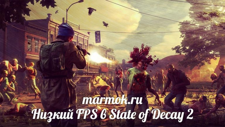 Низкий FPS в State of Decay 2